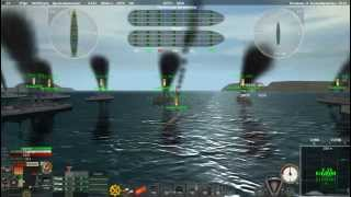 Ironclads.Бой за порт Британии.23/03/2013 PS и ITeam  против IF