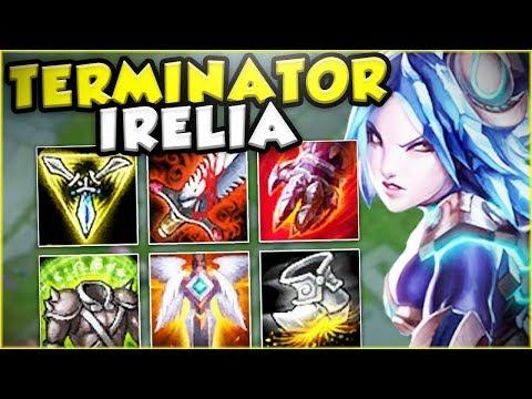 Download Youtube: THIS TERMINATOR IRELIA BUILD MAKES HER GOD TIER! IRELIA TOP GAMEPLAY! - League of Legends