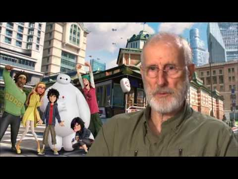 "Big Hero 6: James Cromwell ""Robert Callaghan"" Behind the Scenes Movie Interview"