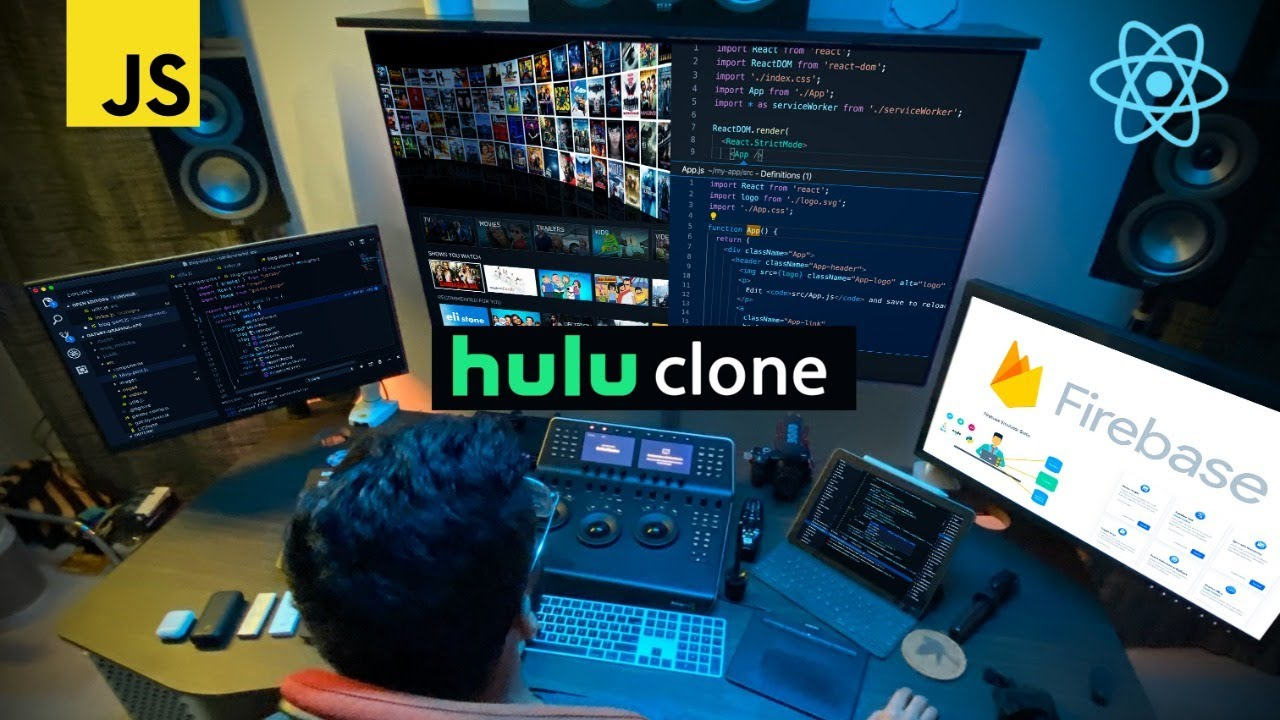 Build a Hulu Clone with React and Firebase