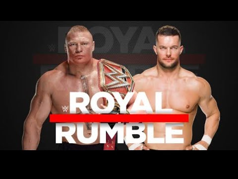 Download Brock Lesnar VS Finn Balor universal championship match || Royal Rumble 2019.