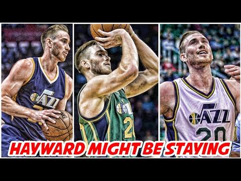 Why Gordon Hayward might stay with Utah Jazz | NBA News & Highlights