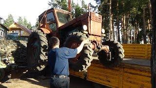 Ремонт трактора Т-40 АМ ч № 14 ,Финал.