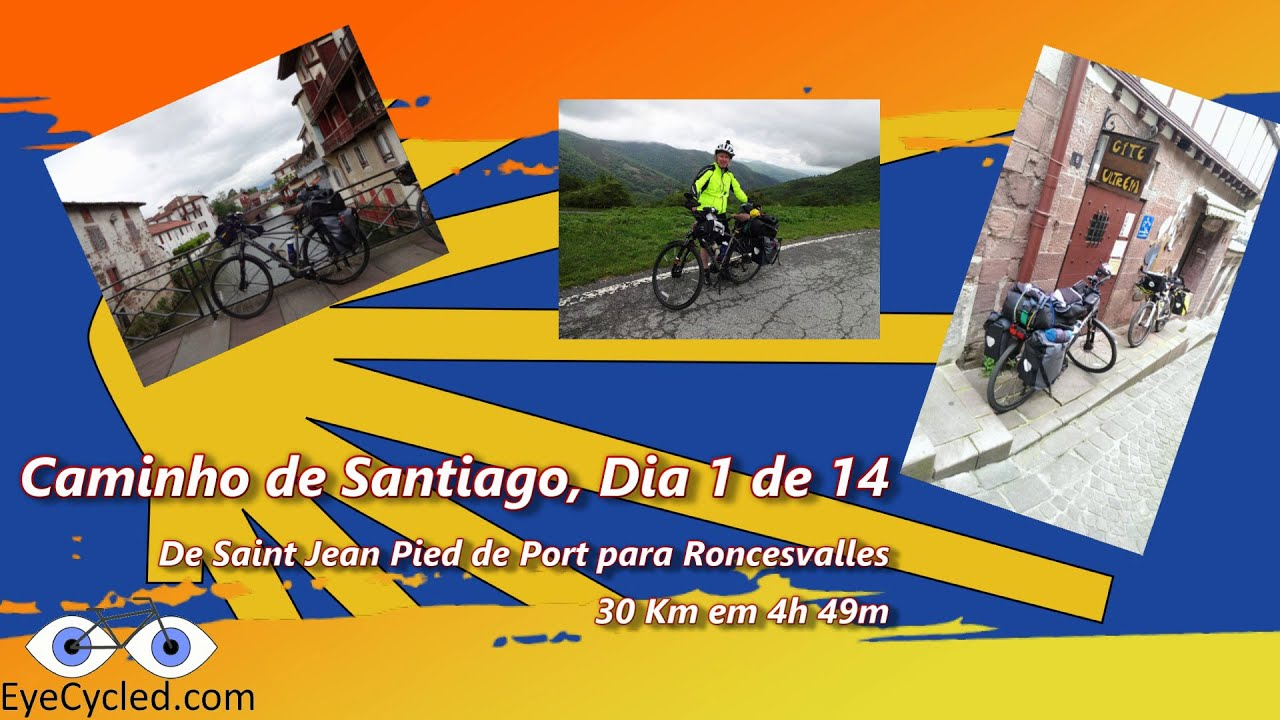 Caminho de santiago dia 1 saint jean pied de port - How to get to saint jean pied de port ...