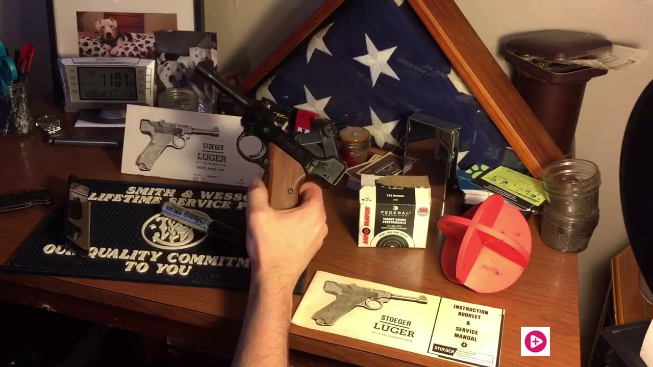 Review of Stoeger 22 Lr Luger pistol