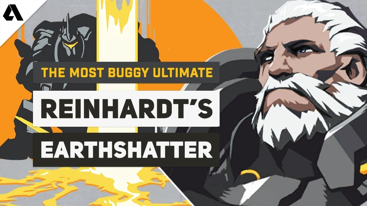 The Buggiest Ultimate In Overwatch History - Reinhardt's Earthshatter