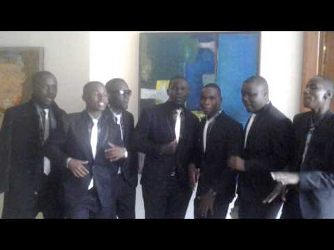 Tusker Project Fame 6 Kampala Auditions: Group Acapella
