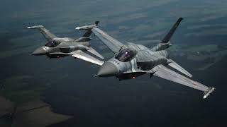 Dny NATO 2018 - letecké záběry F-16 (Polsko)