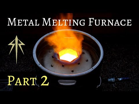 How to Make a Metal Melting Furnace│Foundry Build Detailed│Part 2