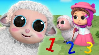Little Bo Peep and MORE | Learn Counting | Baby Joy Joy on Clap Clap Baby