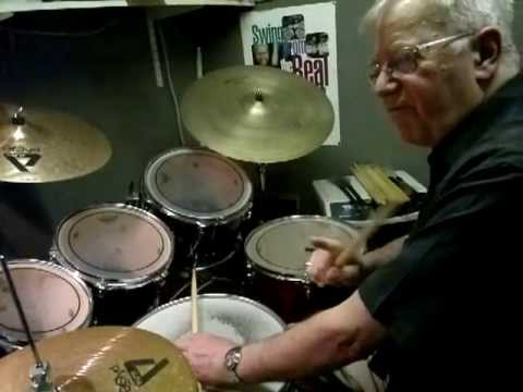 Beguine on a drum kit by John Tayler