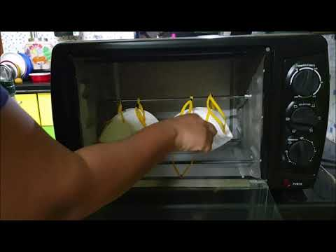 Sterlisation Of N95 Mask By Dry Heat Using Home Oven