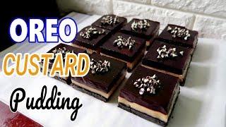 Oreo Custard Pudding Recipe | Oreo Dessert | How to Make Oreo Custard Pudding