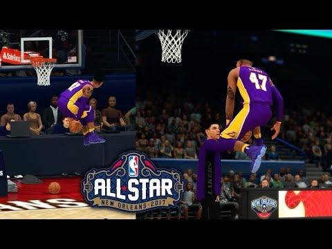 NBA 2K18 MyCareer #30 l All-Star Game: CAMPEÃO MORAL DO TORNEIO DE ENTERRADAS?!