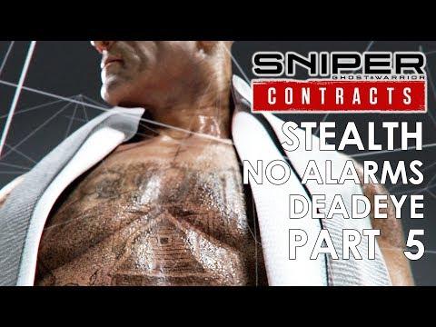 Sniper Ghost Warrior Contracts Stealth No Alarms Gameplay Walkthrough Part 5 – SASHA PETROSHENKO