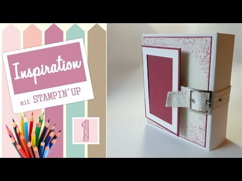 Personal Organizer *SOLD*| Touches of Textures von Stampin' Up