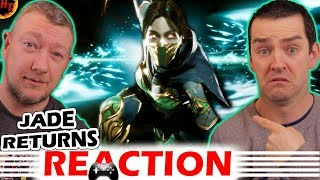 ''JADE '' revealed ! Mortal Kombat 11 Reveal Trailer REACTION