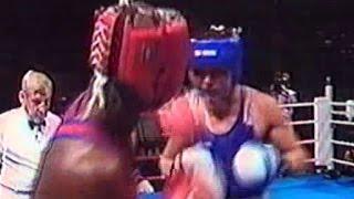 Бокс Василий Жиров-Антонио Тарвер  Олимпиада 1996 -81 кг 1/2