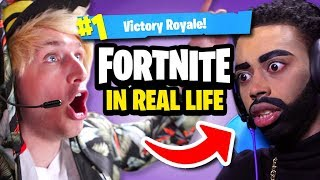 Download FORTNITE IN REAL LIFE Mp3 and Videos