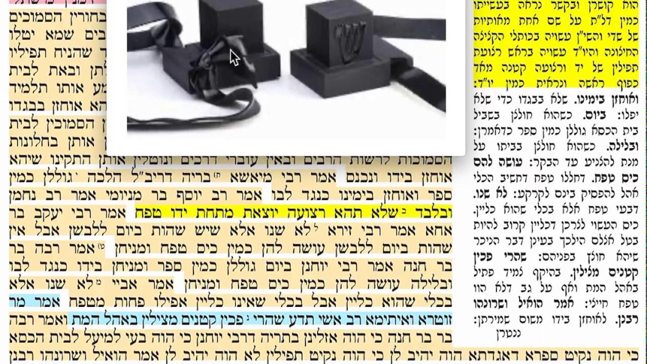 דף יומי ברכות כג Daf yomi Berachot daf 23 שמואל נבון