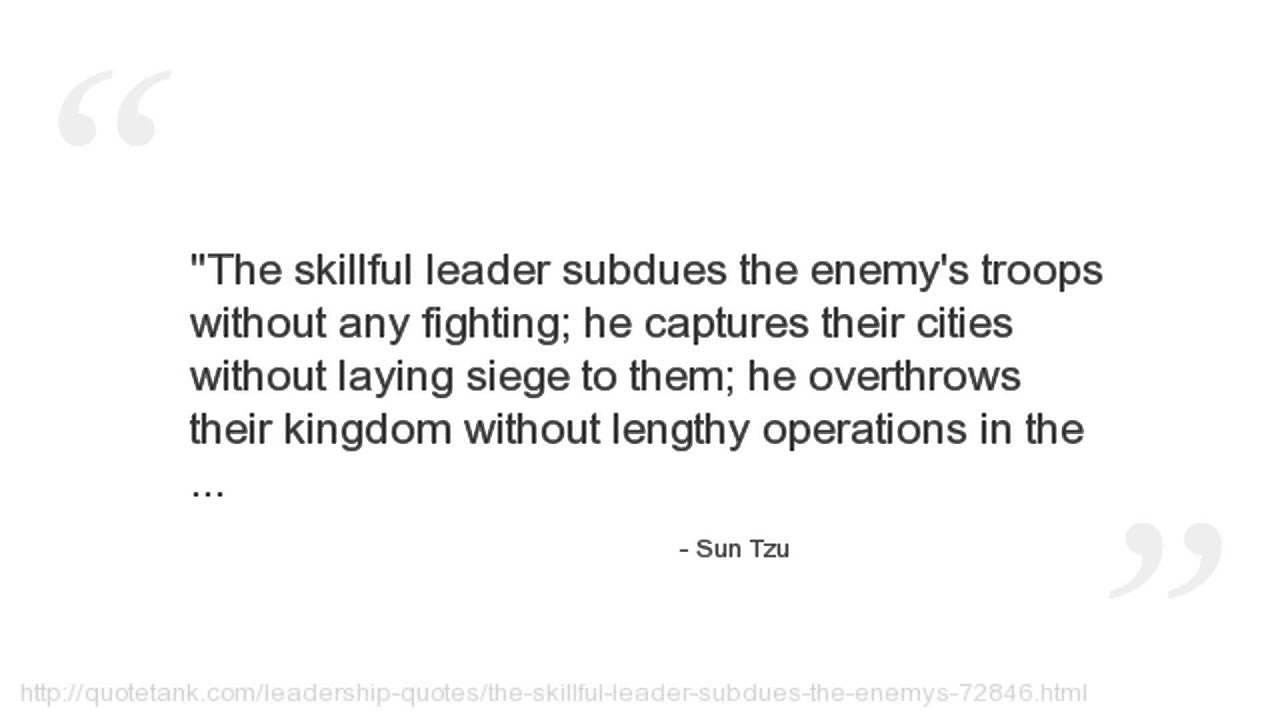 Deception Love Quotes Sun Tzu Quotes  Youtube