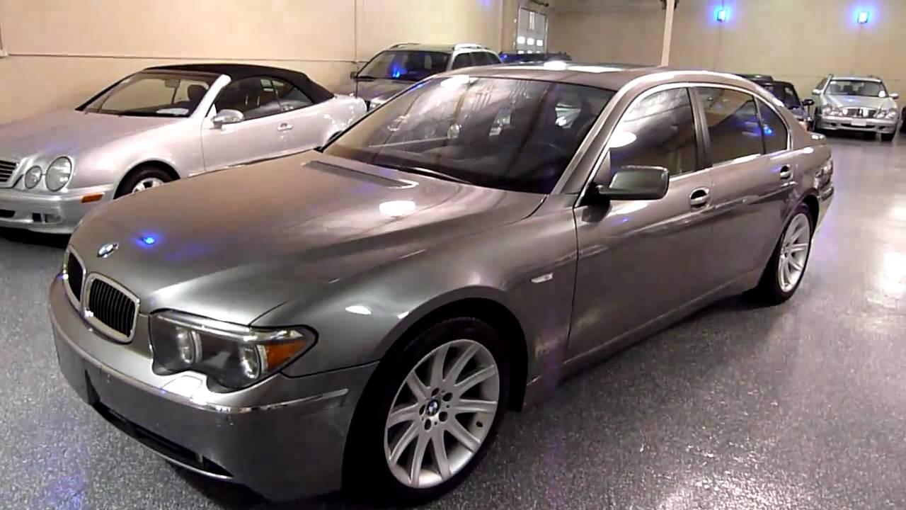 2003 BMW 745Li 4dr Sedan 2024 SOLD