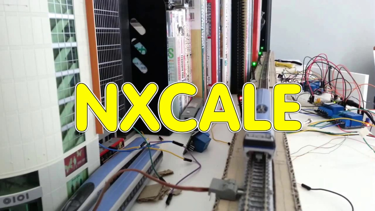 N Scale Signals System & Track Detection - Relay Interlocking Logic instead  of ARDUINO