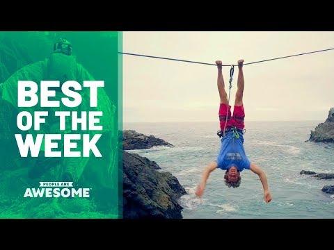 Slacklining, Basketball & Sandboarding | Best of the Week
