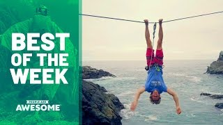 Slacklining, Basketball & Sandboarding | Best of the Week Video