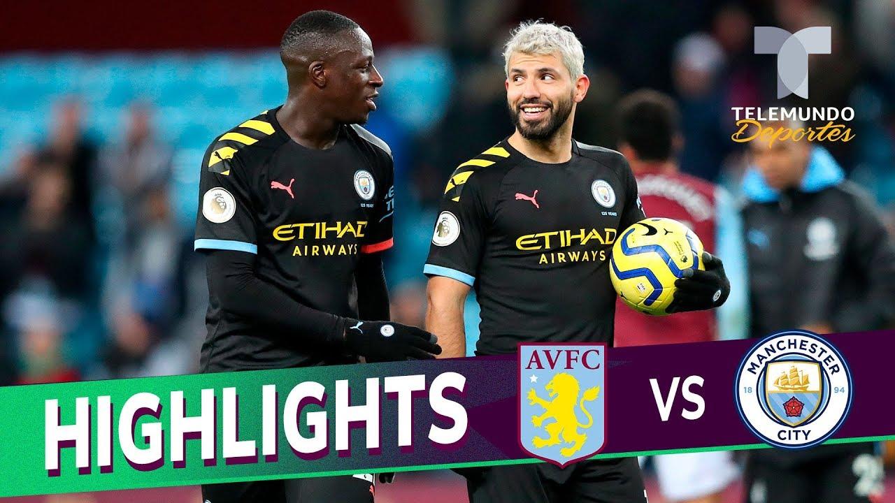 Aston Villa Vs Manchester City 1 6 Goals Highlights