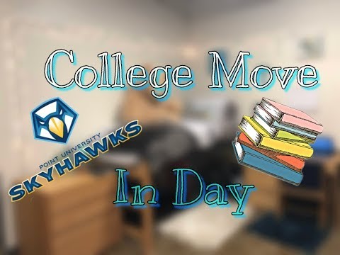 College Move In Day-Freshman | Point University
