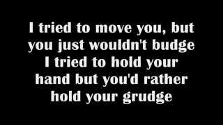 Which To Bury, Us Or The Hatchet by Relient K -Lyrics