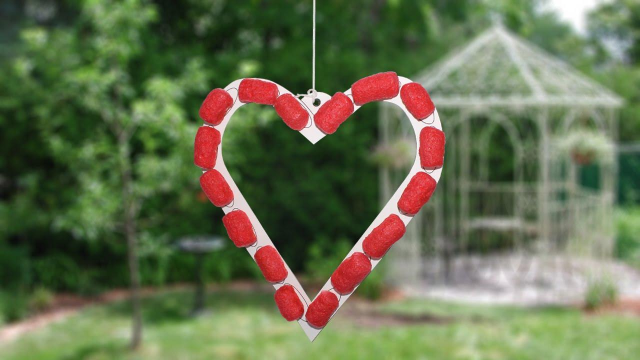 Coeur de St Valentin (Modèle PlayMais) - YouTube