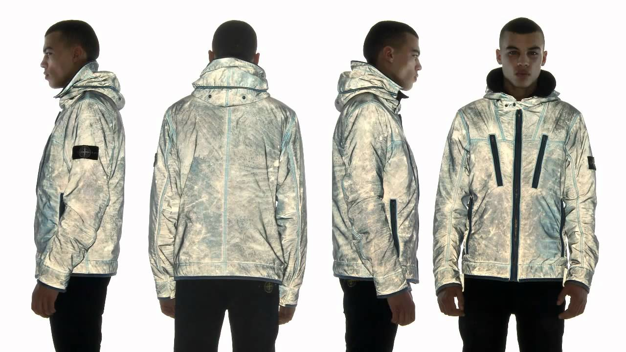 video Stone liquid Island Jacket Reflective vn8wmN0
