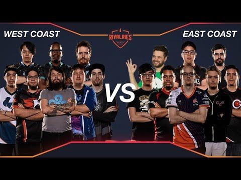Smash Rivalries - CREW BATTLE - West Coast vs East Coast