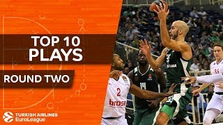 Top 10 Airlines - Top 10 Plays  - Turkish Airlines EuroLeague Regular Season Round 2