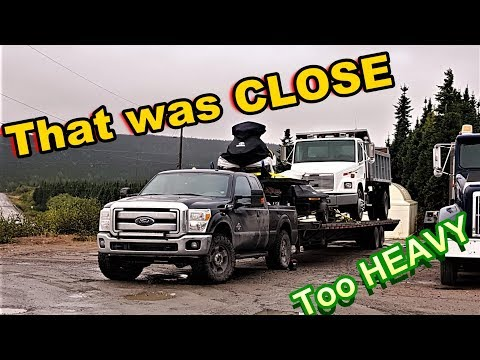 CAN My DIESEL F-250 Haul this DUMP TRUCK 1000 MILES?!? 26,000Ib Trailer Vs F-250