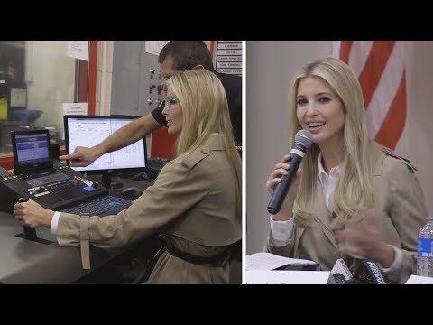 """Ivanka Trump """"packt richtig mit an"""" – doch ein Detail passt nicht ins Bild"""