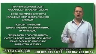 Прикладная Анатомия для Массажистов, Реабилитологов, Фитнес Инструкторов  С Холодов