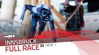 Innsbruck | BMW IBSF World Cup 2018/2019 - Men's Skeleton Heat 1 | IBSF Official