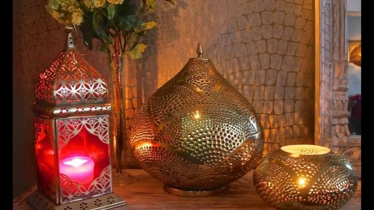 Moroccan Lanterns - Moroccan Decor HD - YouTube for Moroccan Lamp Photography  45hul