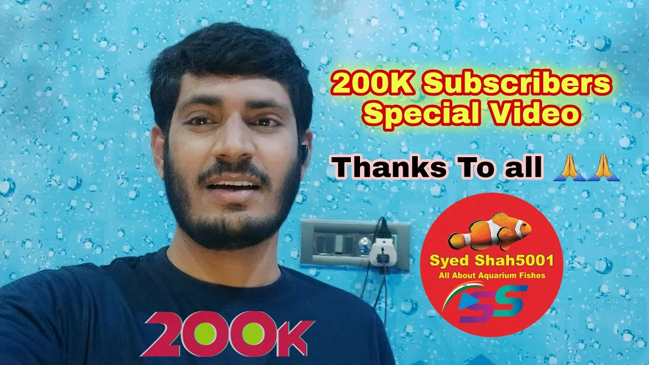 200K Subscriber Special Video !! Thanks To Everyone #Youtube #Subscriber #Syedshah5001 #Youtuber
