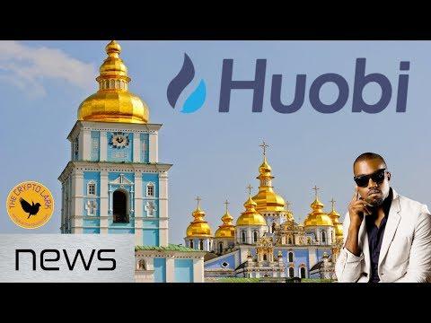 Bitcoin & Cryptocurrenc News - Ukraine Adoption, Kanye, and Huobi
