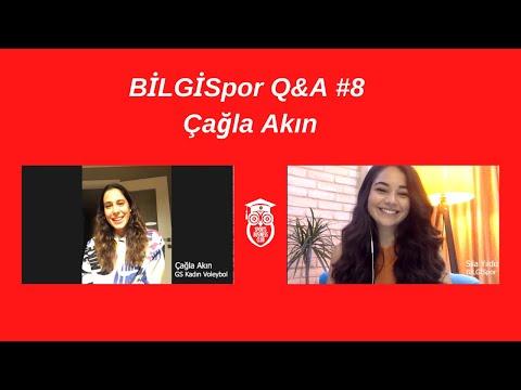 Çağla Akın | BİLGİSpor Q&A #8