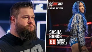 Kevin Owens Upset After WWE Draft, Sasha Banks Angry With WWE 2K20 Rating & More