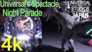 USJ新 ナイトパレード ユニバーサル_ Jurassic World_ 4K thumbnail