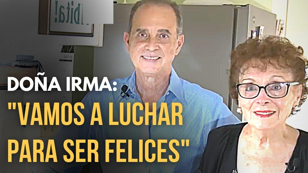 Madre de FRANK SUÁREZ habla con emoción de su hijo (Doña Irma)