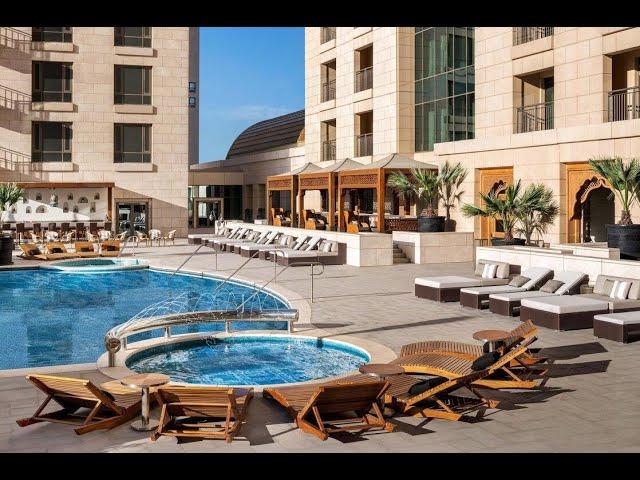 فندق سان ريجز يقدم اروع المأكولات المتنوعة والشرقية والمشروبات الرمضانيه المختلفة