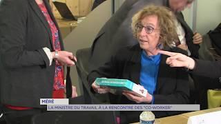Yvelines : la Ministre vient promouvoir le co-working