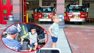 toddler-surprise-trip-to-fire-station-sits-in-firetruck